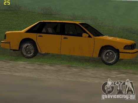 Premier 2012 для GTA San Andreas салон