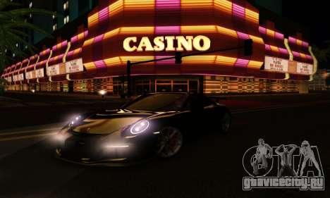 ENBSeries Exflection для GTA San Andreas десятый скриншот
