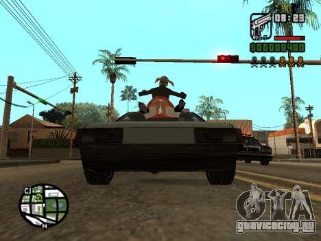 Кетчуп на капоте для GTA San Andreas пятый скриншот