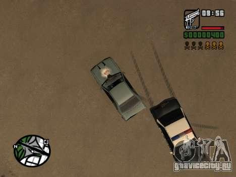 Кетчуп на капоте для GTA San Andreas шестой скриншот