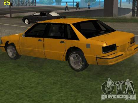 Premier 2012 для GTA San Andreas вид сзади
