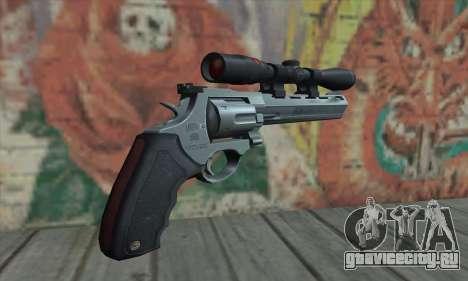 44.M Raging Bull with Scope для GTA San Andreas второй скриншот