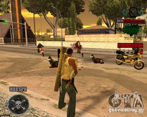 C-HUD Grove St для GTA San Andreas