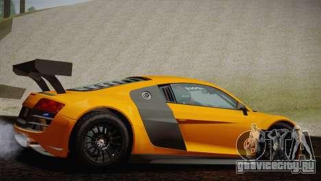 Audi R8 LMS Ultra Old Vinyls для GTA San Andreas вид справа