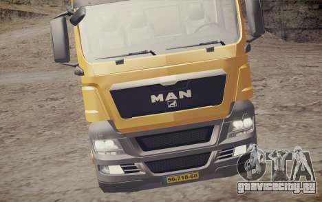 MAN TGS 18.320 Trash Truck для GTA San Andreas вид сзади