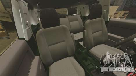 Toyota FJ Cruiser 2012 для GTA 4 вид изнутри