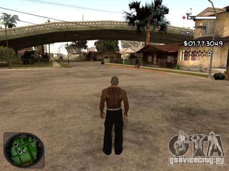 C-HUD by Azov для GTA San Andreas второй скриншот