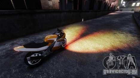 Огненный свет фар для GTA 4 второй скриншот