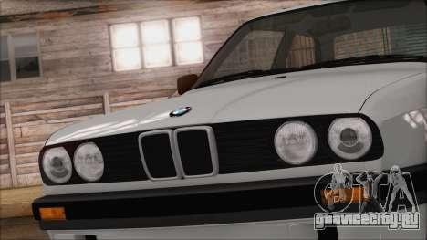BMW M5 E30 для GTA San Andreas вид сзади