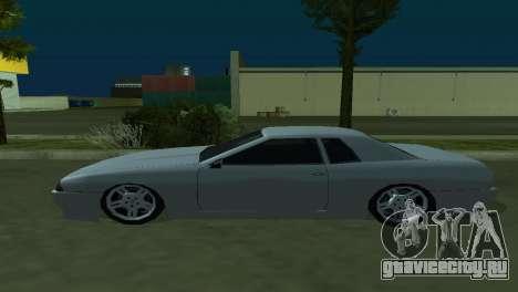 Elegy 280sx для GTA San Andreas вид изнутри