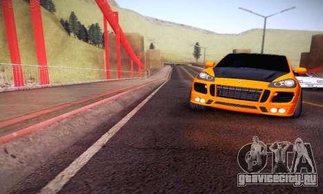 Porsche Cayenne для GTA San Andreas вид сбоку