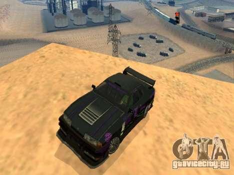 Винилы Luni Team для Elegy для GTA San Andreas вид изнутри