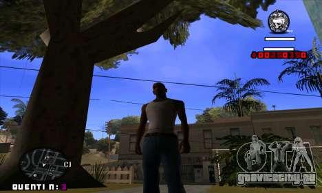 C-HUD Quentin для GTA San Andreas