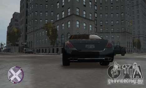 Enus Cognoscenti для GTA 4 вид сзади слева