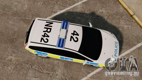 Ford Focus Estate Essex Police [ELS] для GTA 4 вид справа