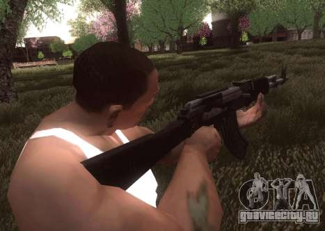 АК-103 для GTA San Andreas четвёртый скриншот