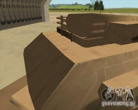 Rhino Mark.VI для GTA San Andreas вид сзади