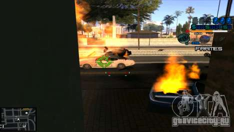 C-Hud Niko для GTA San Andreas третий скриншот