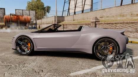 GTA V Dinka Jester Rodster для GTA 4 вид слева