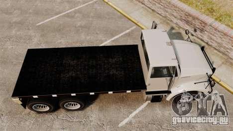 Benson Heavy для GTA 4 вид справа