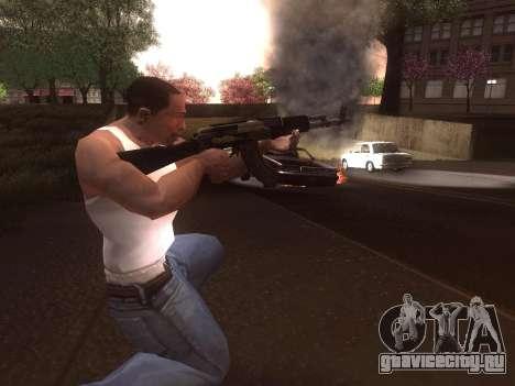 АК-103 для GTA San Andreas пятый скриншот
