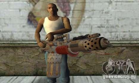 Огнемёт для GTA San Andreas третий скриншот