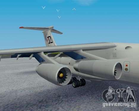 Ил-76ТД Авиакон Цитотранс для GTA San Andreas вид справа