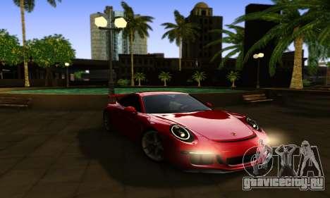 ENBSeries Exflection для GTA San Andreas третий скриншот