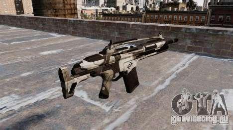 Автомат Crysis 2 v2.0 для GTA 4 второй скриншот