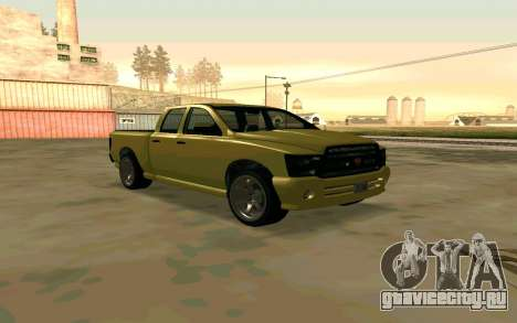 GTA V Bison Version 2 FIXED для GTA San Andreas