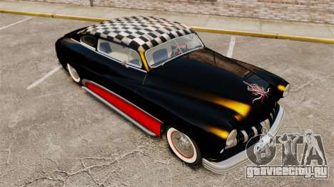 Mercury Lead Sled Custom 1949 для GTA 4 вид сверху