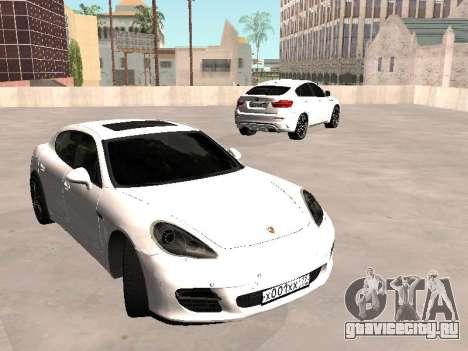 Porsche Panamera 2011 для GTA San Andreas вид справа