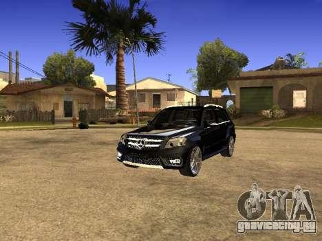 Mercedes-Benz GLK для GTA San Andreas вид справа