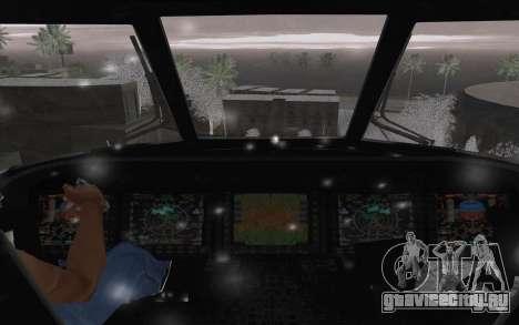 MH-X Silenthawk для GTA San Andreas вид сбоку
