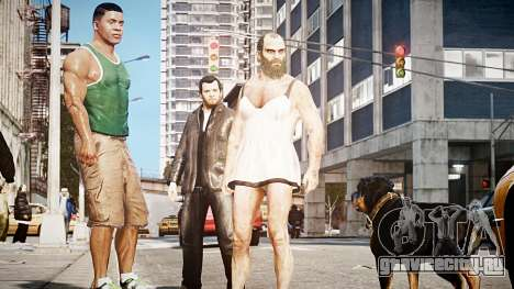 GTA V Тревор Philips для GTA 4 третий скриншот
