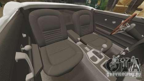 Chevrolet Corvette Stingray для GTA 4 вид изнутри