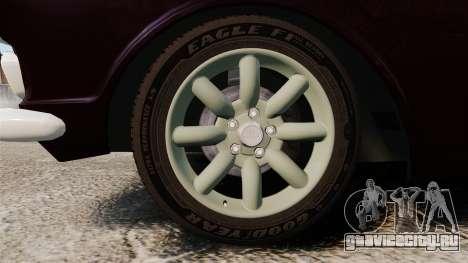 Lotus Cortina 1963 для GTA 4 вид сзади