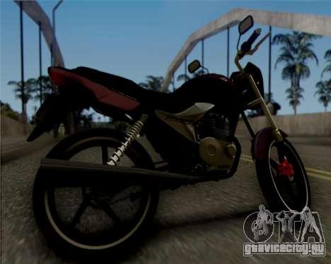 Honda Titan для GTA San Andreas вид сзади слева