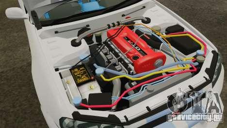 Nissan Skyline GT-R R34 V-Spec 1999 для GTA 4 вид сзади