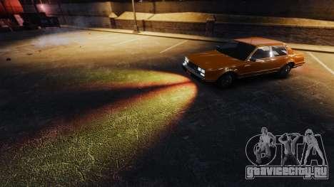 Огненный свет фар для GTA 4