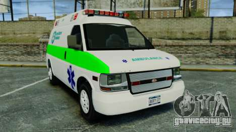 Vapid Speedo Rural Metro EMS [ELS] для GTA 4