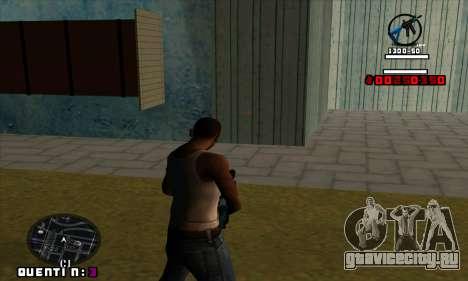 C-HUD Quentin для GTA San Andreas второй скриншот