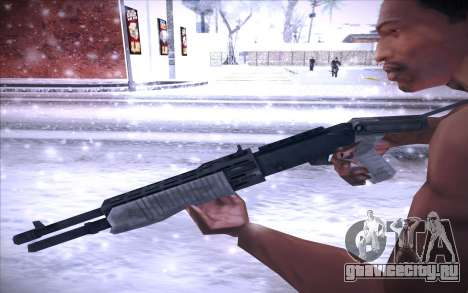 Spas 12 для GTA San Andreas третий скриншот