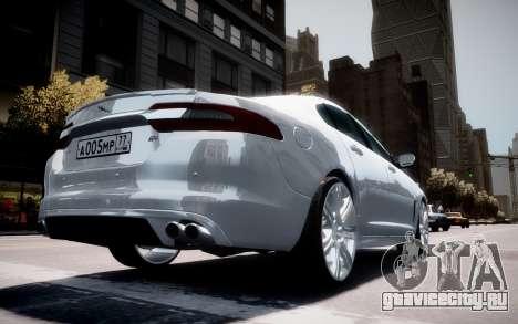 Jaguar XF-R 2012 v1.2 для GTA 4 колёса