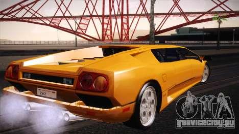 Lamborghini Diablo Stretch для GTA San Andreas вид слева
