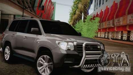 Toyota Land Cruiser 200 для GTA San Andreas двигатель