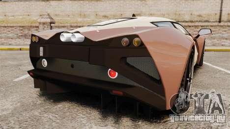 Marussia B2 для GTA 4 вид сзади слева