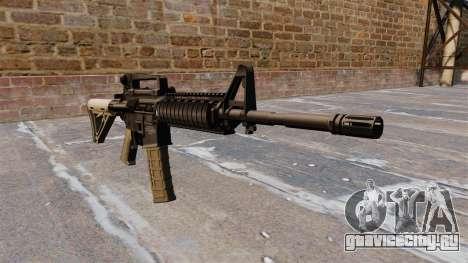 Автоматический карабин M4 Chris Costa для GTA 4