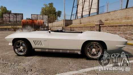 Chevrolet Corvette Stingray для GTA 4 вид слева