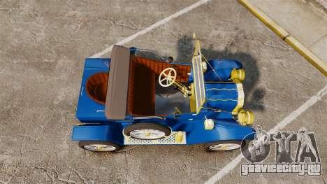 Ford Model T 1912 для GTA 4 вид справа